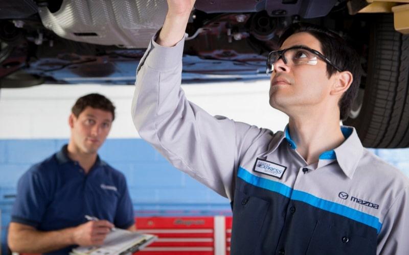 Mazda Certified Technicians