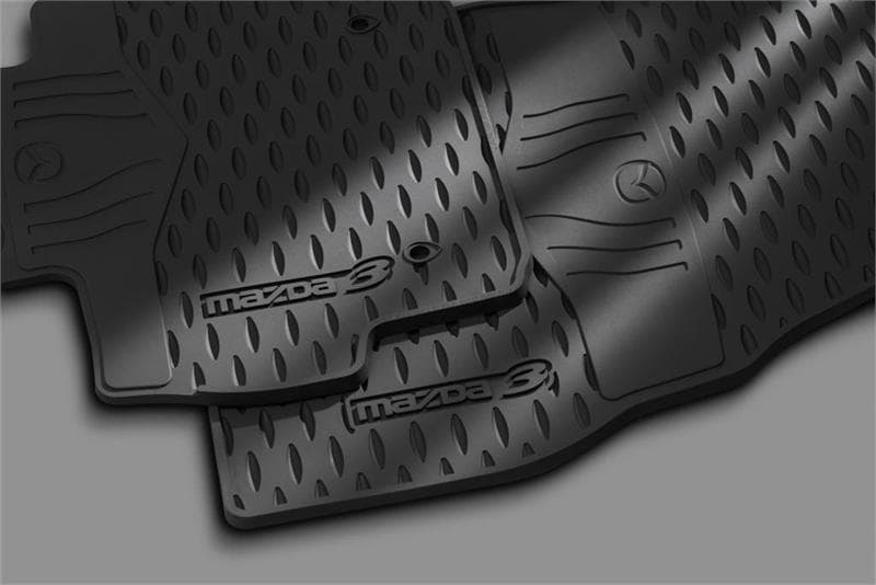 Mazda Genuine Accessory - All-Weather Floor Mats | South Bay Mazda near Redono Beach; Palos Verdes; Long Beach California
