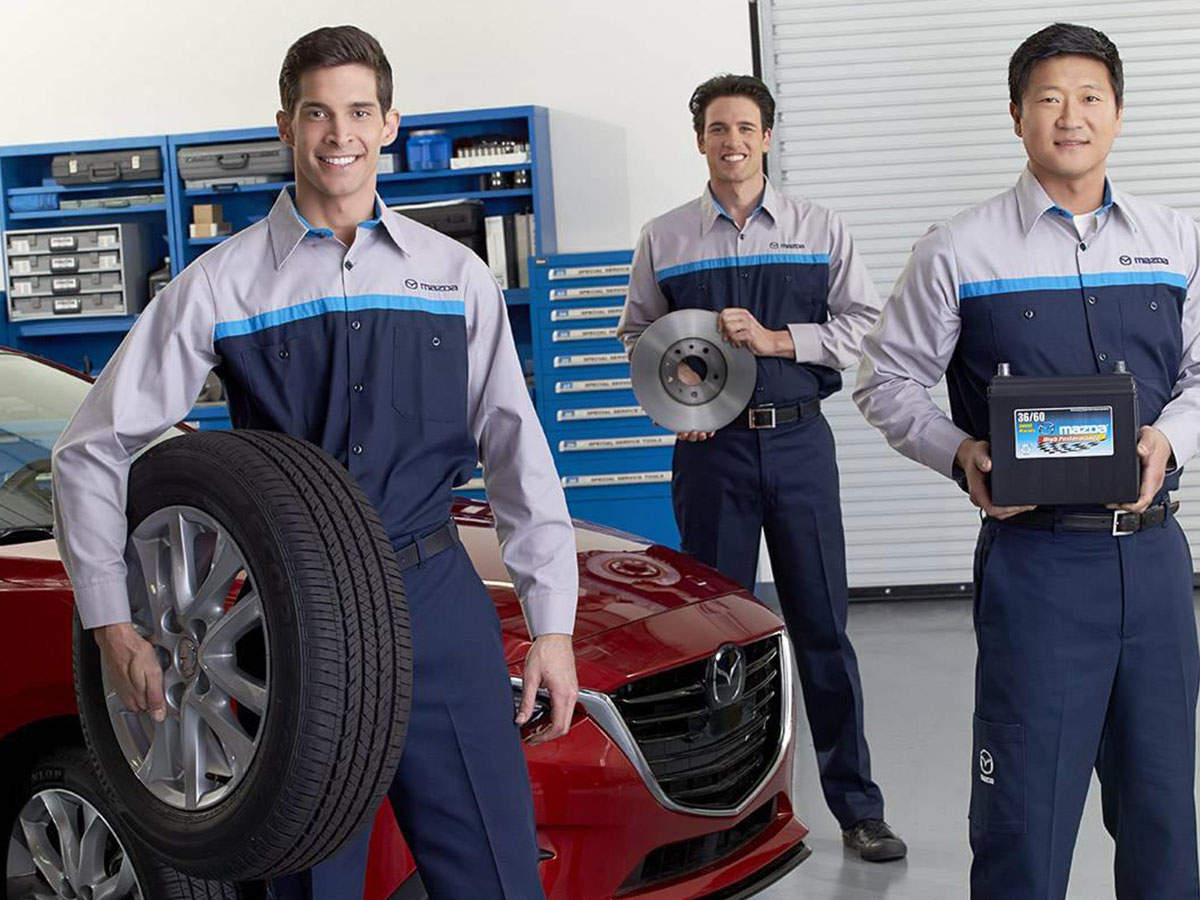 Genuine Hiley Mazda Auto Parts Department