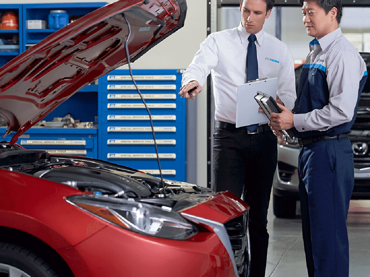Genuine Hiley Mazda Auto Service Department