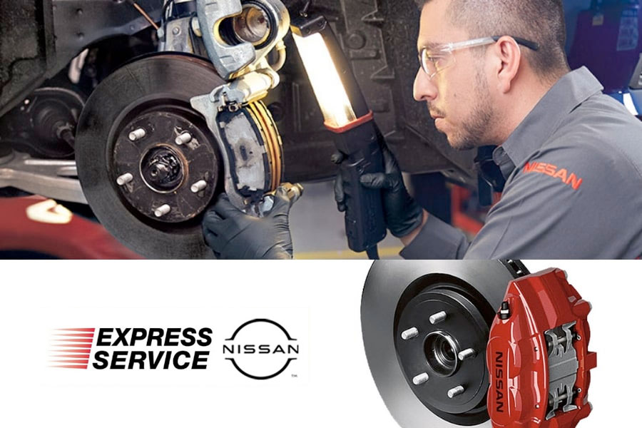 Nissan Front Brake Pad Replacement Service | Tustin near Irvine and Santa Ana, California