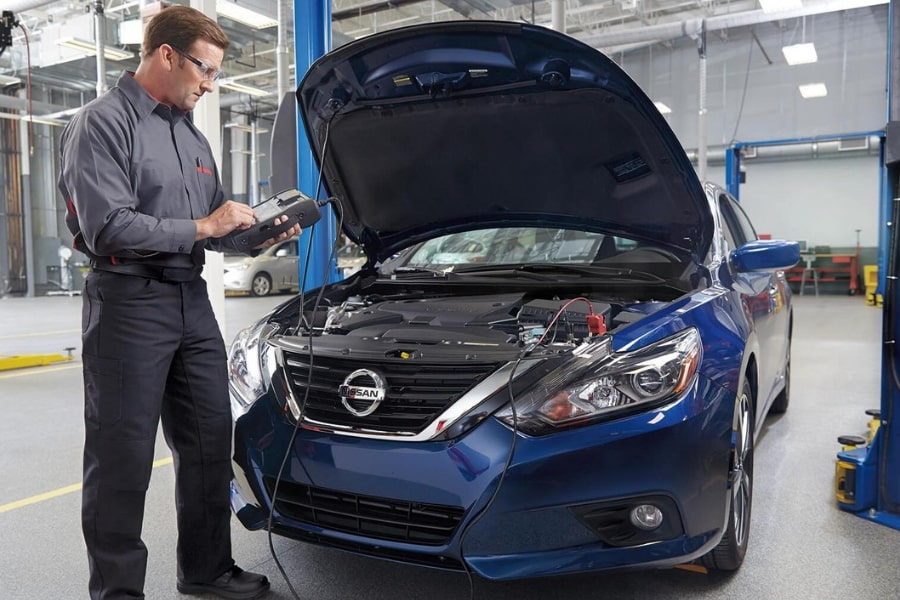 Nissan Battery Charging System Service | Tustin near Irvine and Santa Ana, California