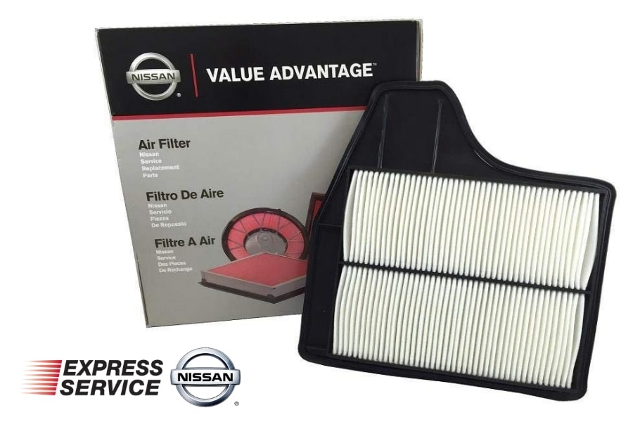 Nissan Engine Air Filter Replacement Service Tustin California