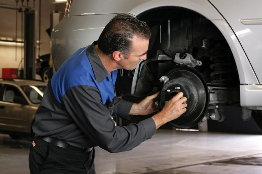 Subaru Front Brake Pad Replacement Elgin IL - Brilliance Subaru