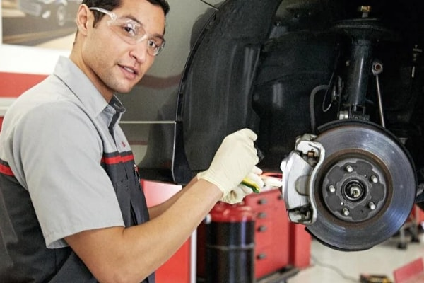 Toyota Complete Front Brake Service St. Louis