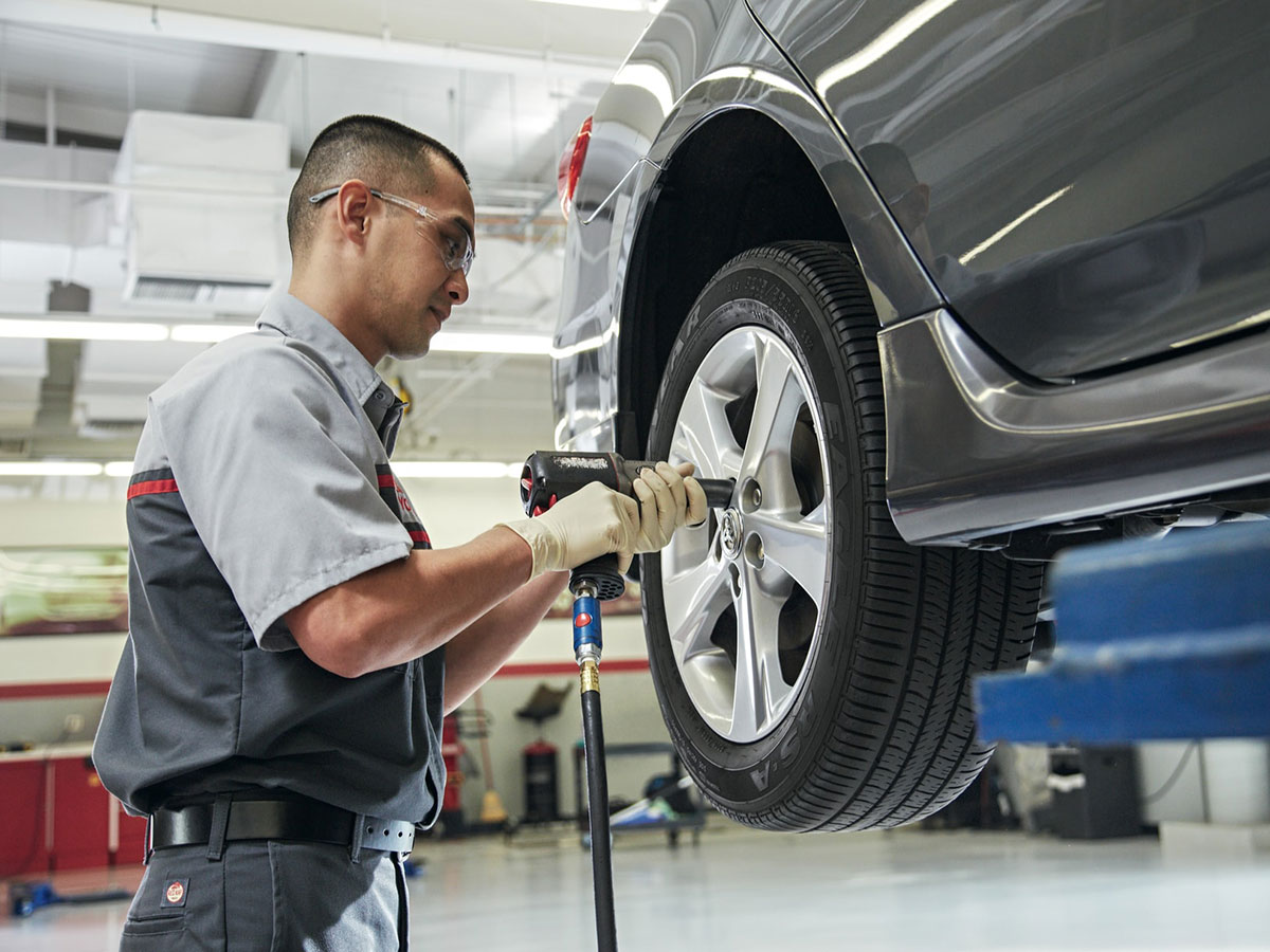 LaFontaine Toyota Tire Rotation and Brake Inspection Service Coupon