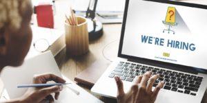 Employer that's marketing flexible jobs