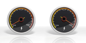 Gauges to spot low performers.