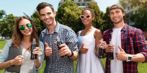 Millennials enjoying work flexibility