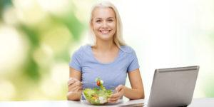 Employee enjoying employee wellness programs