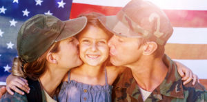 Learning how employers can help military families.
