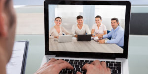 Employers using video interviewing in the hiring process