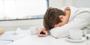Virtual workers suffering from burnout.