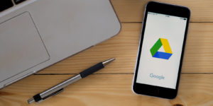 Google Drive, one of the ways to boost and track productivity.