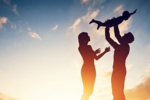 Parents experiencing the benefits of flexibility