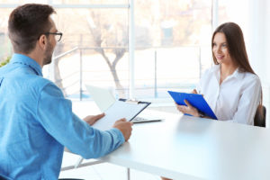 Employer checking cultural fit during an interview