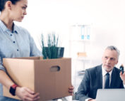 Employee turnover at a company