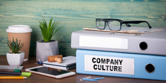 Notebooks to improve company culture