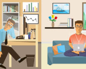 Turning office jobs to remote jobs