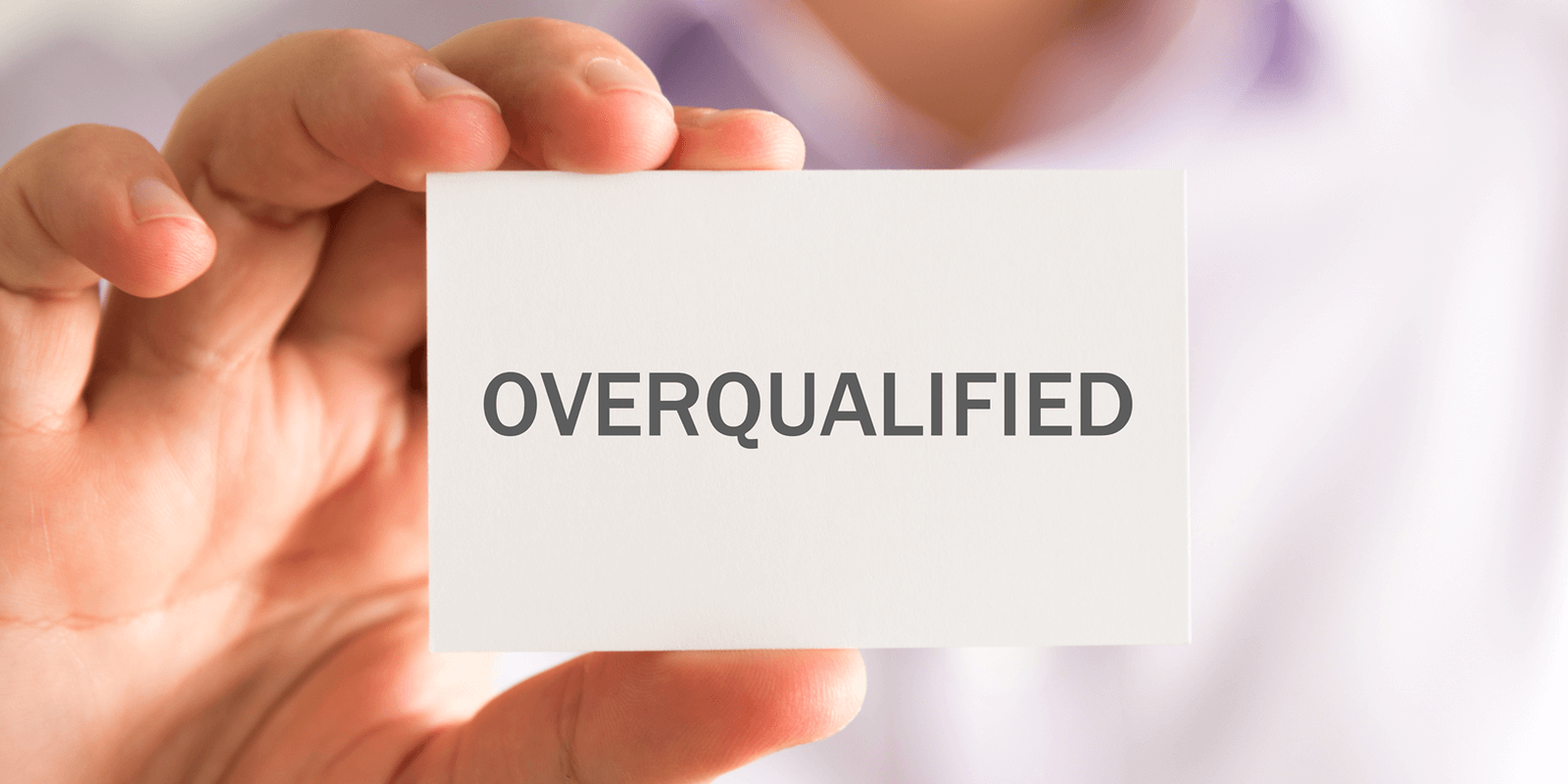 Image result for overqualify
