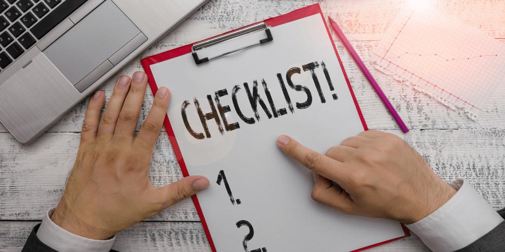 remote work checklist for companies