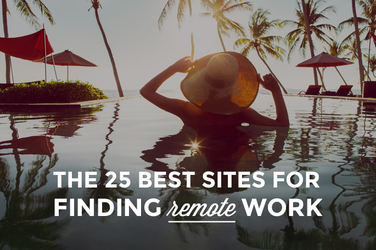 The 25 Best Sites For Finding Remote Work