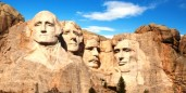 Mount Rushmore, the best government jobs and executive jobs for Presidents' Day.