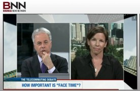 The business news network interviews flexjobs