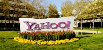 Yahoo! sign, dealing the great debate over telecommuting