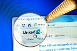 LinkedIn's new job search feature