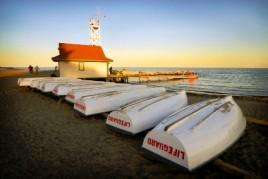 Lifeguard -- a favorite summer job.