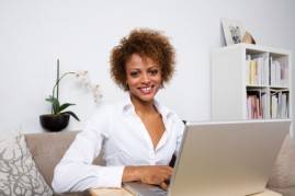Working at home in a freelance-friendly industry