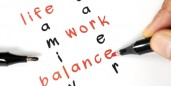 Talking work-life balance in the news.