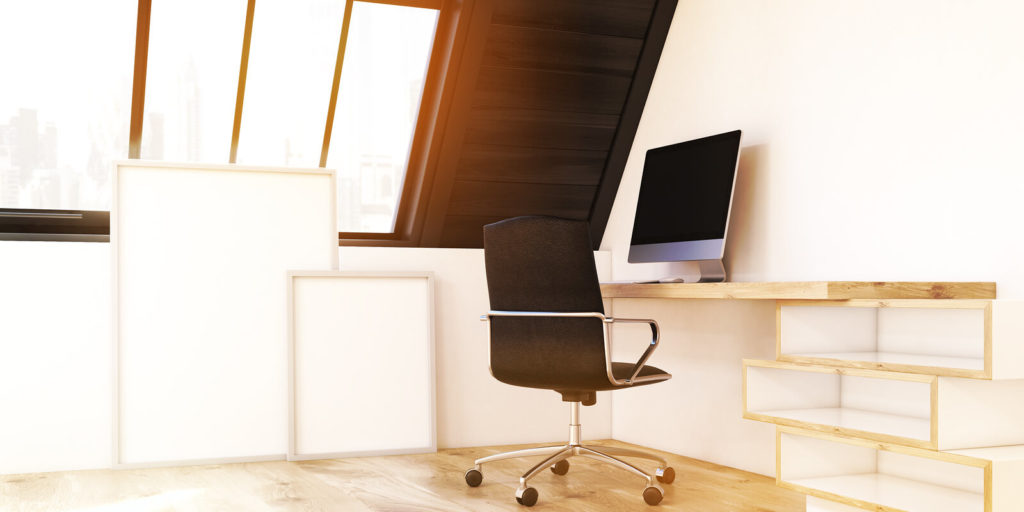 Turning an attic into a home office