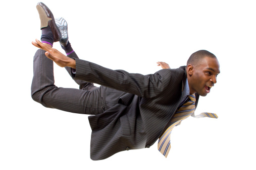 Worker demonstrating extreme work flexibility