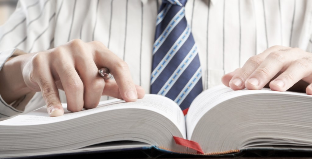 Searching the dictionary for keywords in your job search