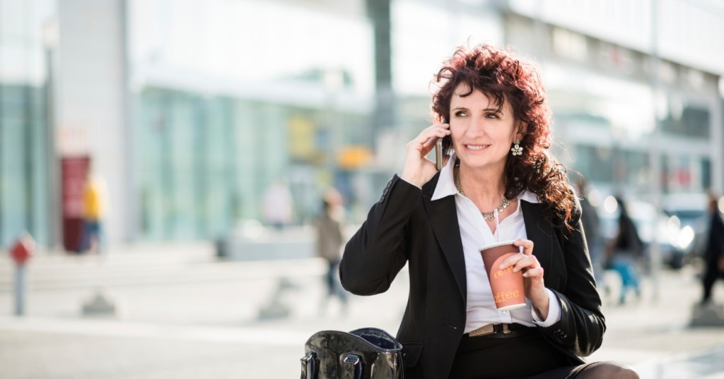 Job seeker on phone talking about not getting hired