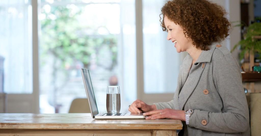 News detailing how telecommuting grew