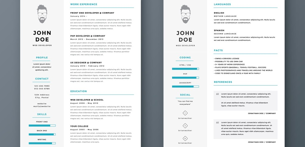 33 resume headers that may work for you
