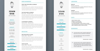 resume headers