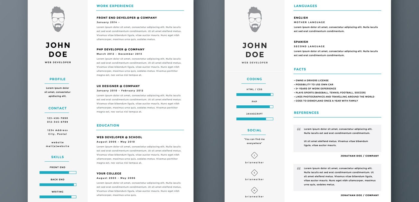 33 resume headers that may work for