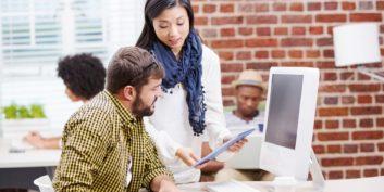 Job seekers looking for tech jobs.