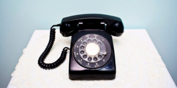 Telephone ringing symbolizing your career calling