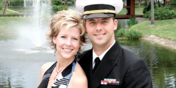 Success story of how several companies help military spouses stay employed.