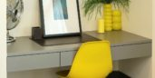 Desk demonstrating how to help the environment when you work from home