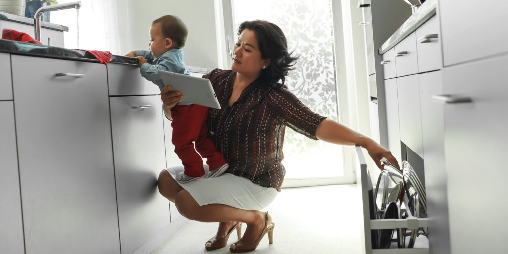 """Modern working mother wondering about """"having it all."""""""