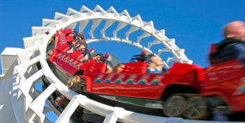 Rollercoaster, one of many flexible jobs for adrenaline junkies.