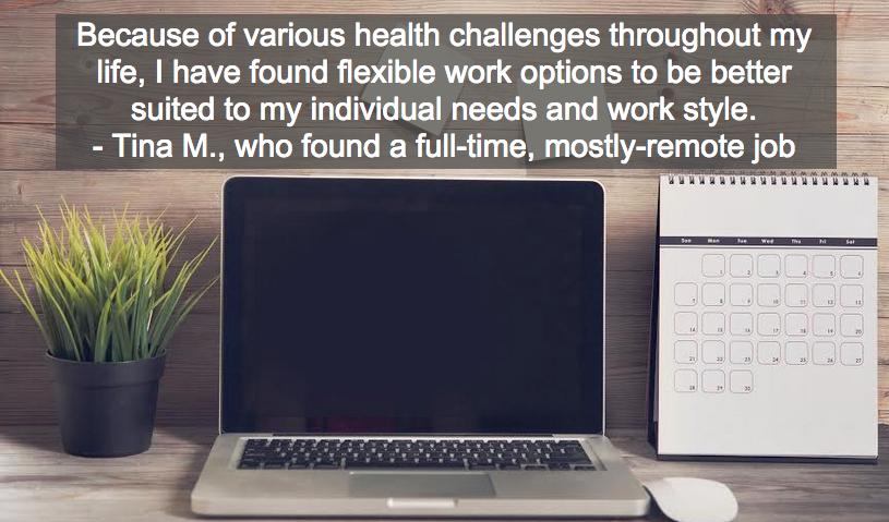 Remote Position Helps Job Seeker Handle Health Challenges