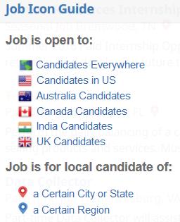 job icon locations