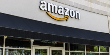 Amazon, one of several companies hiring for remote customer service jobs.